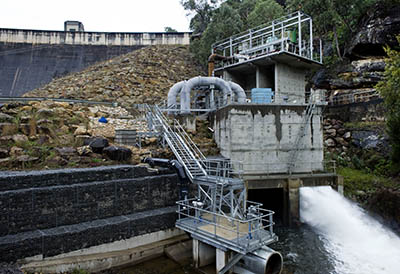 Environmental flows around Warragamba Dam