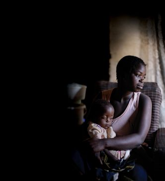 Mother and child in malawi