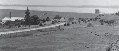 early photo of Prospect Reservoir