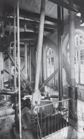 A picture of a steam driven pump engine