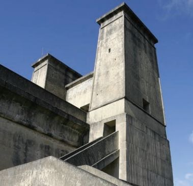 The towers of Cordeaux Dam