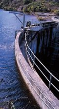 Lake Medlow Dam wall photograph