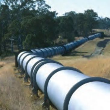 a pipeline in the country