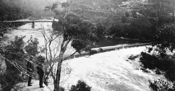 weir flooding
