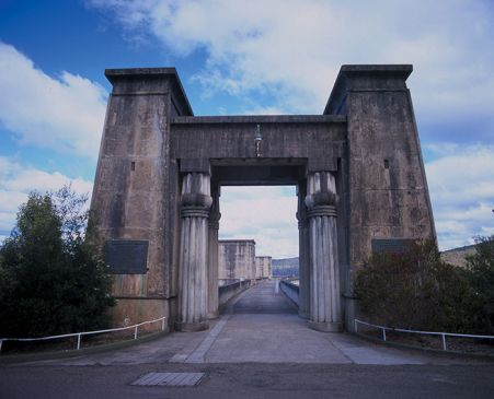 the gates of cordeaux dam