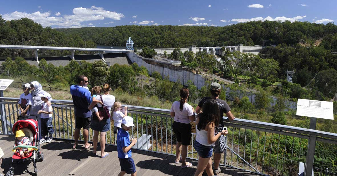 Warragamba Dam - WaterNSW