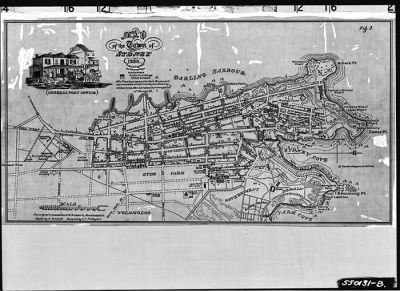 A plan of the town of Sydney in 1836